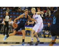 Баскетболистки Беларуси и Великобритании победили на старте международного турнира в Минске