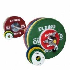 Штанга женская олимпийская ELEIKO, 185 кг (IWF)