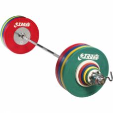 Штанга мужская олимпийская DHS, 190 кг (IWF)