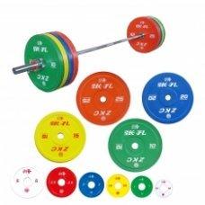 Штанга женская олимпийская ZKC, 185 кг (IWF)