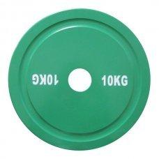 Диск для штанги соревновательный 10 кг DHS Olympic