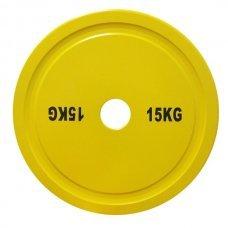 Диск для штанги соревновательный 15 кг DHS Olympic