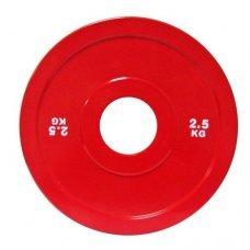 Диск для штанги соревновательный 2,5 кг DHS Olympic